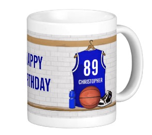 B-day Blue Mug